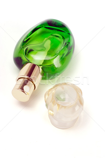Open bottle of perfume  Stock photo © dezign56