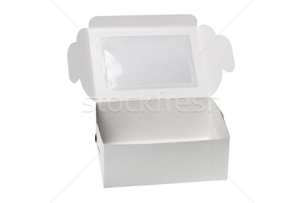 Open Paper Gift Box  Stock photo © dezign56