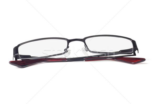 модный очки металл кадр белый стекла Сток-фото © dezign56