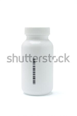 Plastic medicine bottle Stock photo © dezign56