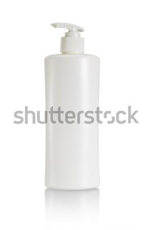 пластиковых бутылку уход за кожей продукт белый тело Сток-фото © dezign56