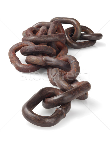 Rusty Metal Chain  Stock photo © dezign56