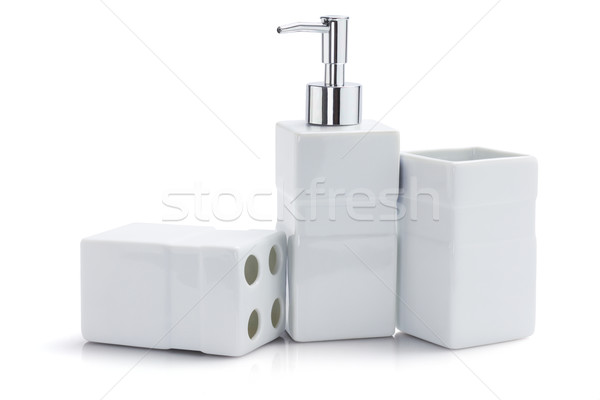 Toiletries Dispenser And Containers Stock photo © dezign56