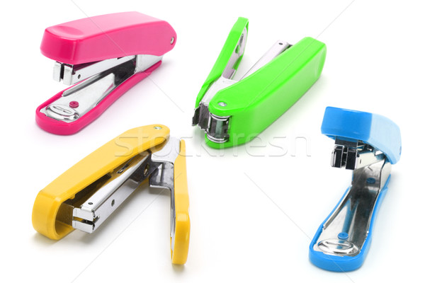 Colorful staplers Stock photo © dezign56