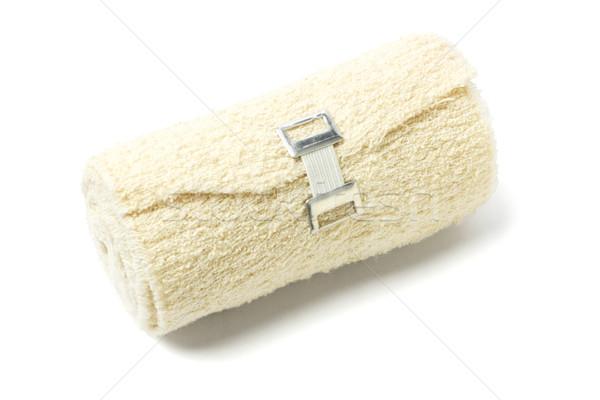 Flexível crepe bandagem rolar médico tecido Foto stock © dezign56