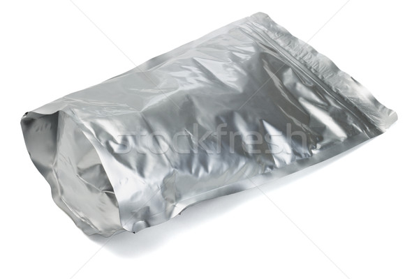 Sealed aluminum foil bag Stock photo © dezign56