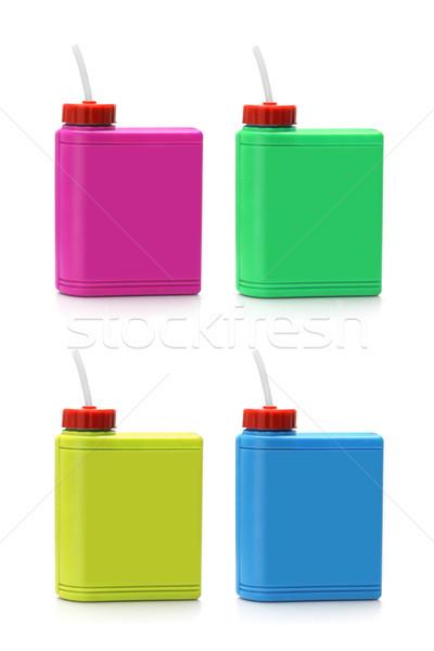 Stok fotoğraf: Su · spor · yeşil · mavi · şişe · kırmızı