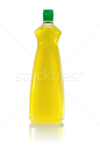 Plastic bottle of dishwashing liquid  Stock photo © dezign56