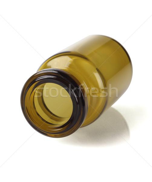 Boş cam şişe açmak konteyner nesne Stok fotoğraf © dezign56