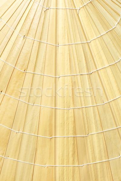 Chapéu de palha superfície textura padrão natureza Foto stock © dezign56
