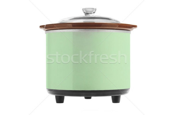 Green Electric Cooker  Stock photo © dezign56