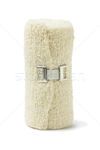 Flexível médico bandagem rolar em pé branco Foto stock © dezign56