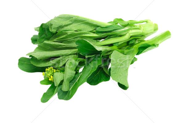 新鮮な 緑 マスタード 白 テクスチャ 食品 ストックフォト © dezign56