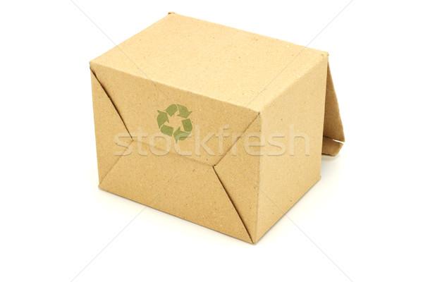 carton box for recycling Stock photo © dezign56