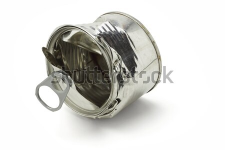 Crushed tin can  Stock photo © dezign56