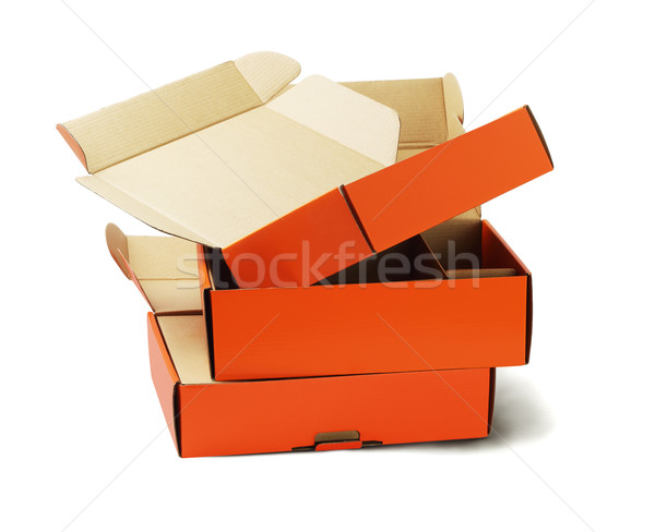 Product Package Boxes  Stock photo © dezign56