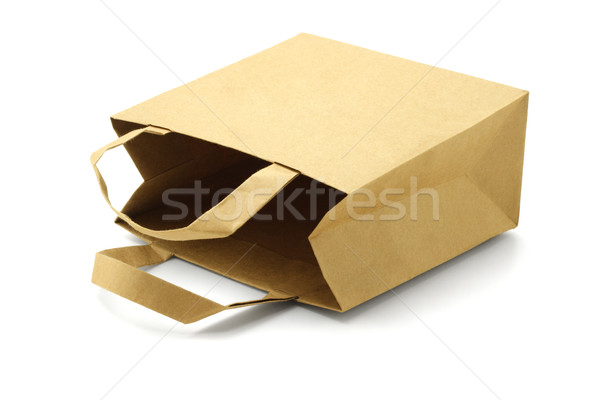 Recycled Paper Bag  Stock photo © dezign56