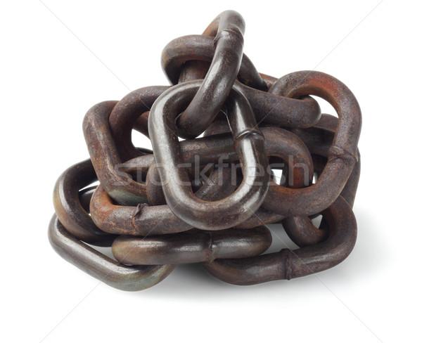 Pile Of Metal Chain Stock photo © dezign56