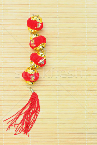Chinese New Year Lantern Ornament Stock photo © dezign56