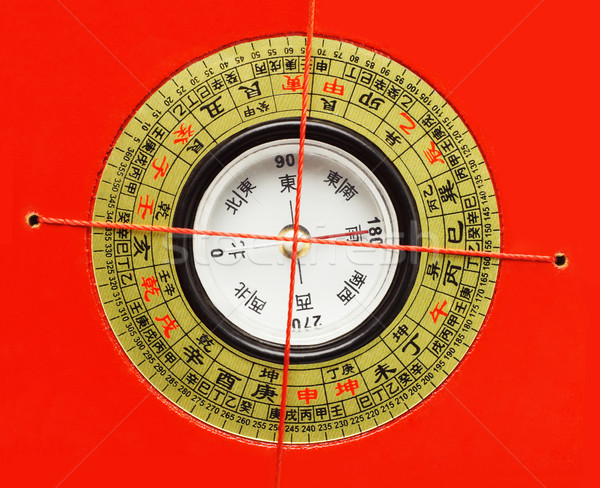 Chinese Feng Shui Compass Stock photo © dezign56