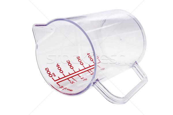 Plastic Measuring Cup Stock photo © dezign56
