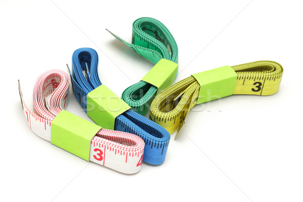 Color measuring tapes Stock photo © dezign56