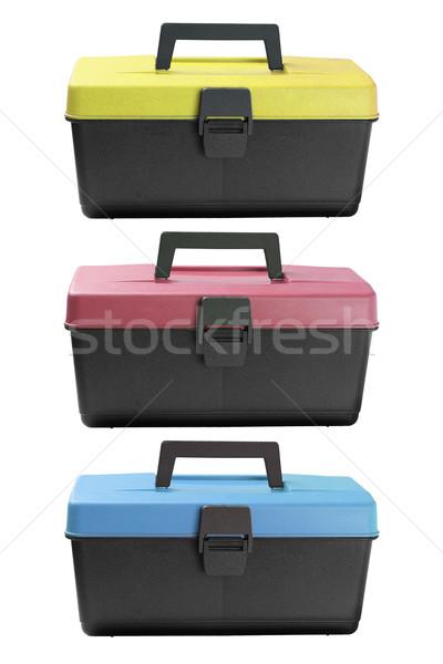 Tool Boxes  Stock photo © dezign56