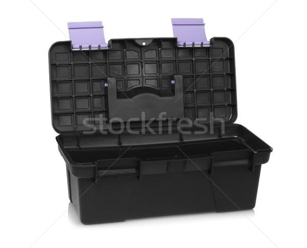 пусто черный Инструменты открытых белый блокировка Сток-фото © dezign56