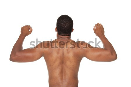 strong muscular back Stock photo © dgilder