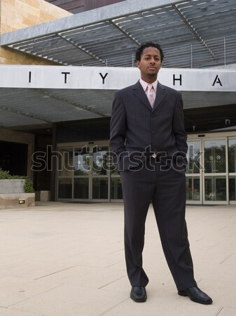 businessman - confidence Stock photo © dgilder