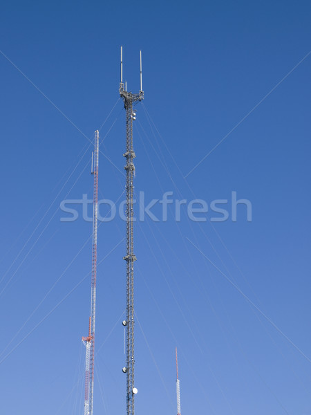 television - broadcast antenna Stock photo © dgilder