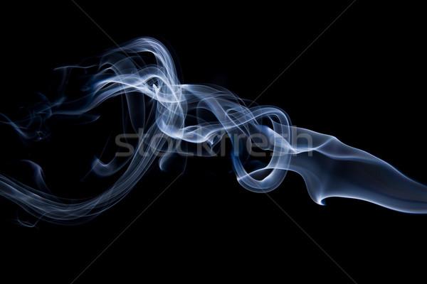 Smoke closeups Stock photo © dgilder