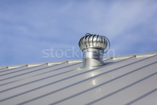New Metal Roof Stock photo © dgilder