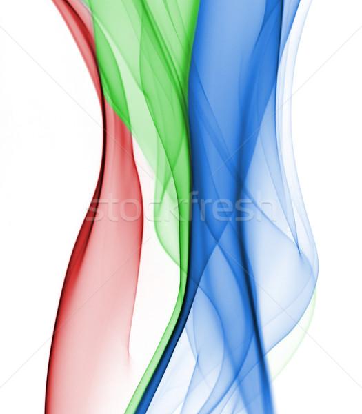 аннотация дым макроса детали синий искусства Сток-фото © dgilder