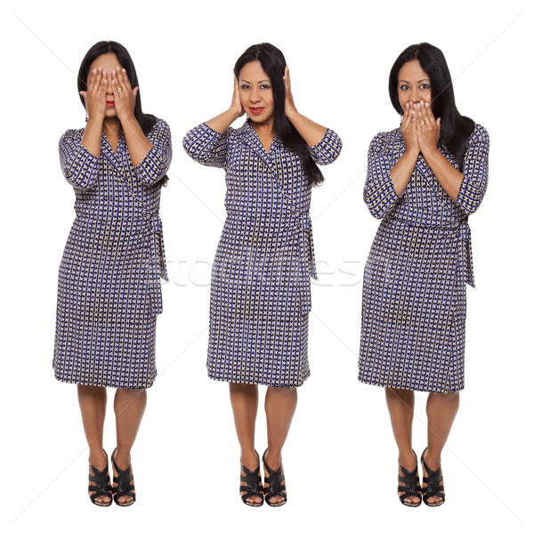 Casual Latina - No Evil Stock photo © dgilder