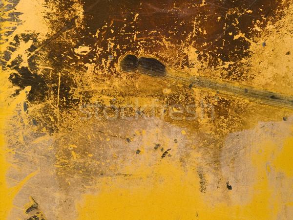 texture - rusty painted metal Stock photo © dgilder