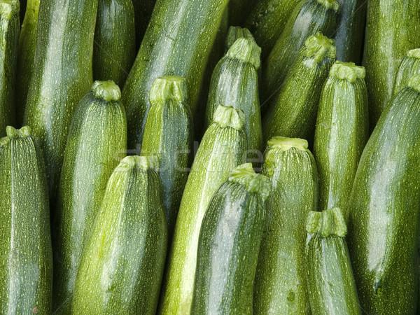 Stockfoto: Objecten · komkommer · organisch · lokaal · boeren · markt