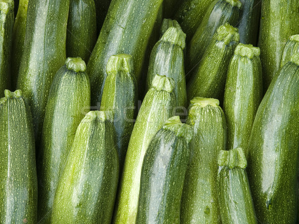 Foto stock: Objetos · pepino · orgânico · local · agricultores · mercado