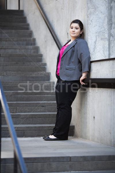 üzletasszony elvesz törik stock fotó jólöltözött Stock fotó © dgilder