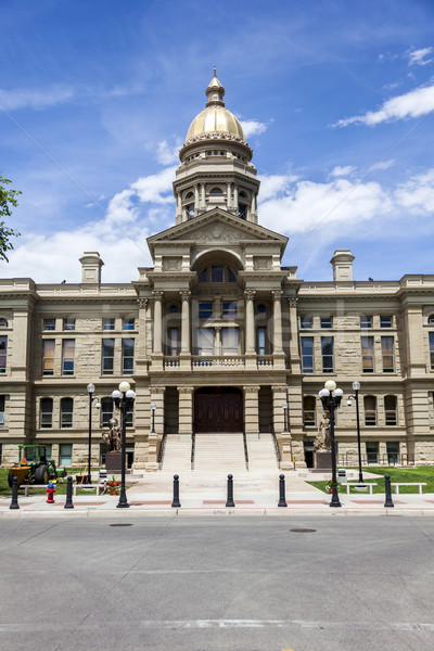 Wyoming State Capitol Building Stock photo © dgilder