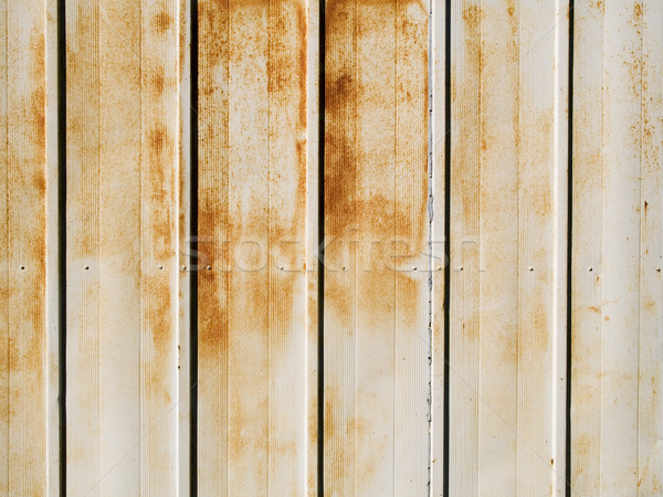 macro - texture _ peeling paint and rust Stock photo © dgilder