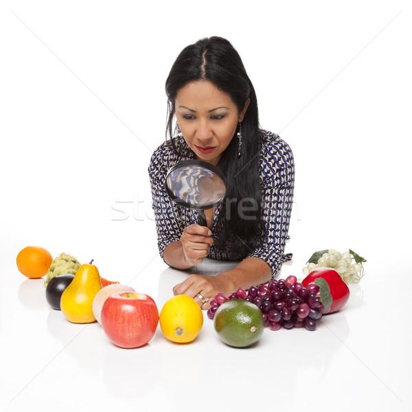 Casual Latina - produce selection Stock photo © dgilder