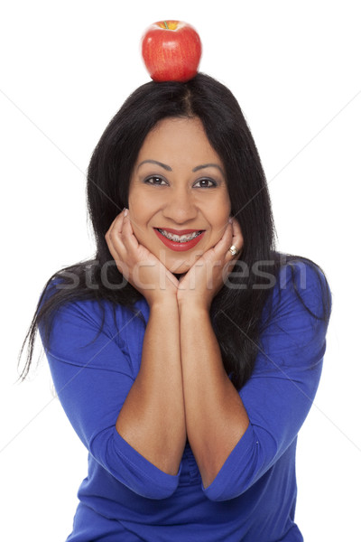 Casual Latina - William Tell Apple Braces Stock photo © dgilder