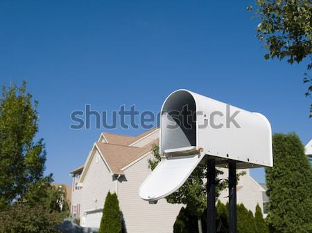 mailbox with blue sky Stock photo © dgilder