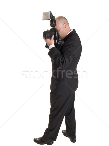 Boda fotógrafo stock foto cámara Foto stock © dgilder