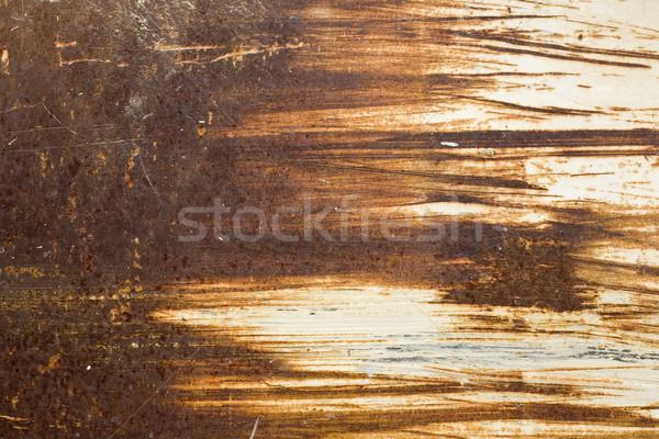 textures - metallic _ scratched paint Stock photo © dgilder
