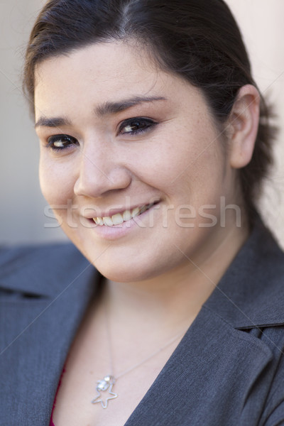 Empresária retrato estoque foto Foto stock © dgilder