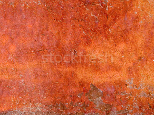 macro texture - metal - rusty peeling paint Stock photo © dgilder