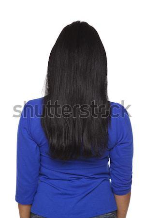 Casual Latina - backside Stock photo © dgilder