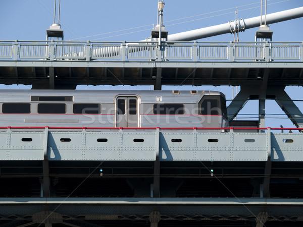 列車 車 列車 ダウン トラック ストックフォト © dgilder